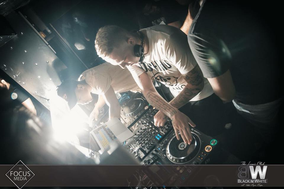 DJ Russke at Club Black N White Ayia Napa