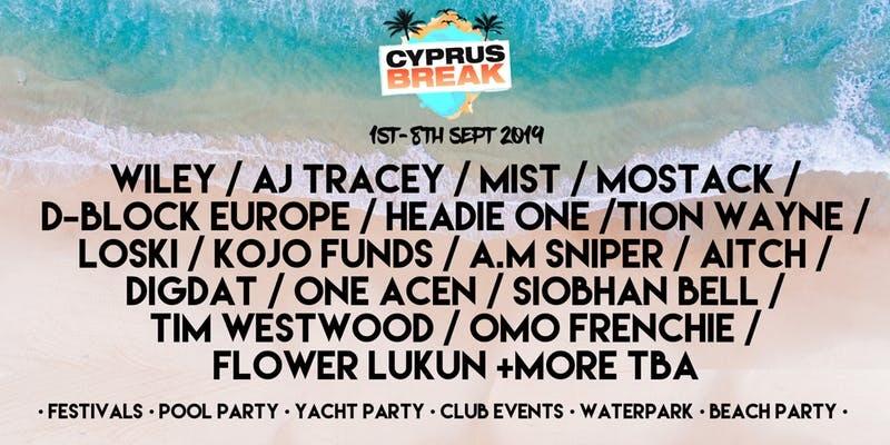 Cyprus Break Ayia Napa Summer Closing Festival 2019
