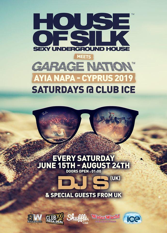 House of Silk and Garage Nation Ayia Napa