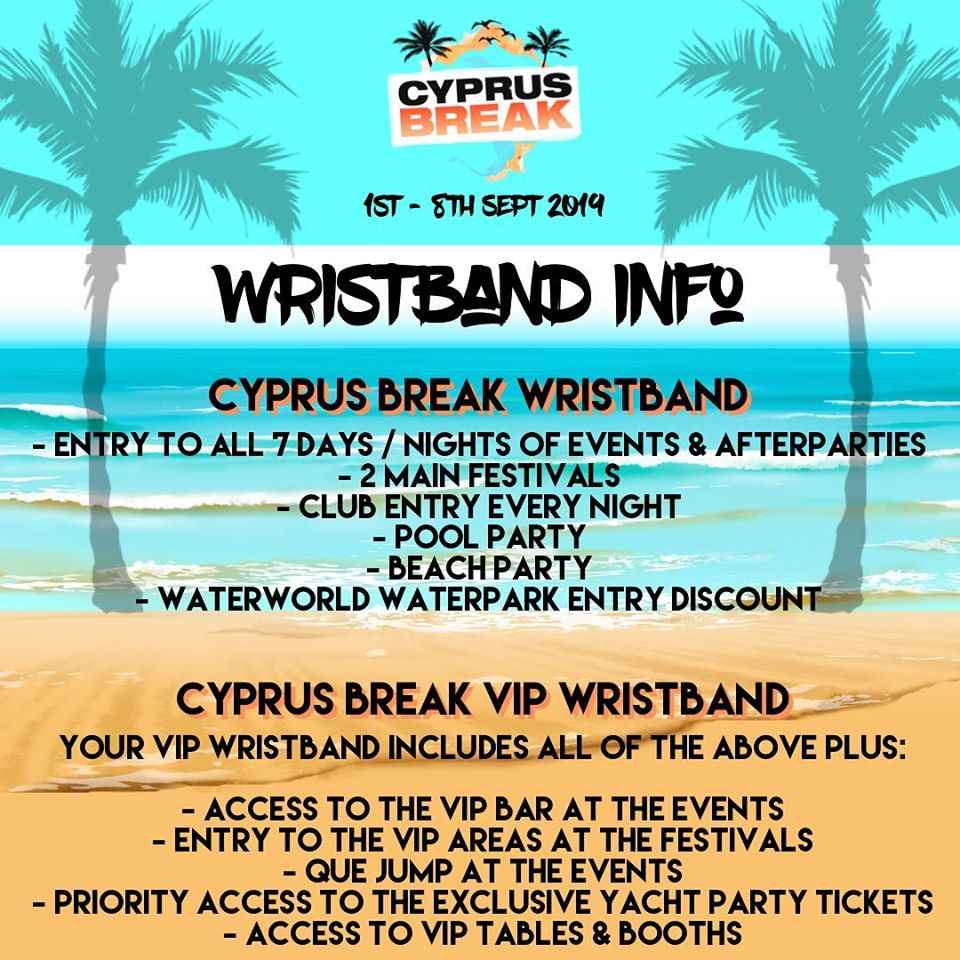 Cyprus Break Ayia Napa 2019